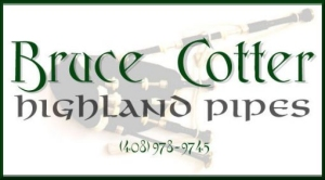 Bruce Cotter, Highland Pipes